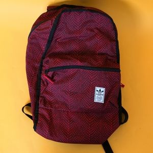 Adidas Unisex backpack casual sport red/black rare
